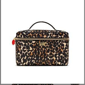 Victoria's Secret Soft Leopard Train Case